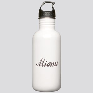 Vintage Miami Stainless Water Bottle 1.0L