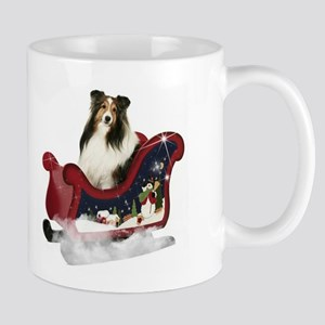 Magic Sleigh Sheltie Mug