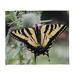 Butterfly Arctic Fleece Throw Blanket