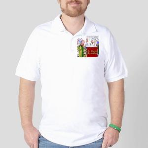 Capitalists Coming Boom Box Golf Shirt