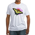 Tiger Swallowtail Fitted T-Shirt