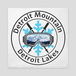 Detroit Mountain - Detroit Lakes - M Queen Duvet