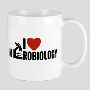 I Love Microbiology Mug