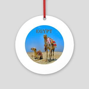 Camels & Pyramids - Ornament (Round)