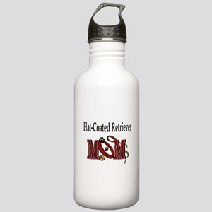 Flat-Coated Retriever Stainless Water Bottle 1.0L