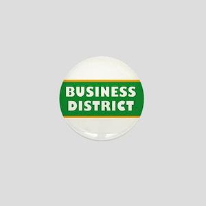 Business District Mini Button