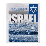 Jerusalem, Israel Arctic Fleece Throw Blanket