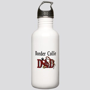 Border Collie Dad Stainless Water Bottle 1.0L