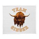 Team Ginger Scottish Highland Cow Arctic Fleece Th