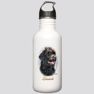 Labradoodle Art Stainless Water Bottle 1.0L