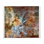 Hubble Telescope Carina Nebula Arctic Fleece Throw