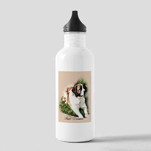 Saint Bernard Art Stainless Water Bottle 1.0L