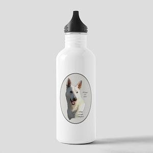 White German Shepherd Stainless Water Bottle 1.0L