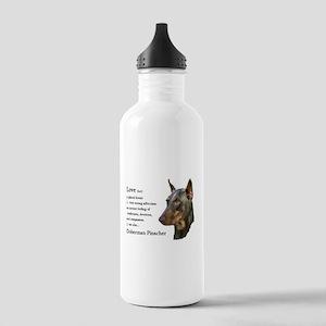 Doberman Pinscher Gifts Stainless Water Bottle 1.0