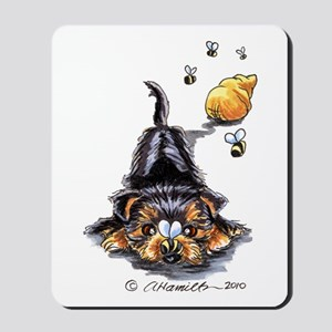Bee Yorkie Lover Mousepad