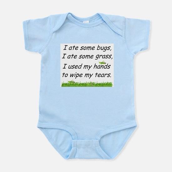 I ate some bugs Infant Bodysuit