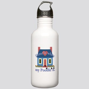 Poodle Lovers Gifts Stainless Water Bottle 1.0L