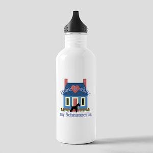 Standard Schnauzer Stainless Water Bottle 1.0L