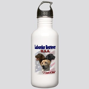 Labrador Retriever Gifts Stainless Water Bottle 1.