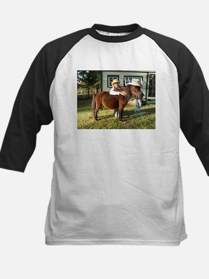 4-H Straw hat Cowgirl Kids Baseball Jersey