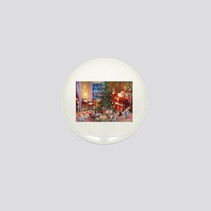 SANTA CLAUS ON CHRISTMAS EVE Mini Button