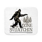Sasquatch Gone Squatchin Sherpa Fleece Throw Blank