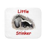 littlestinker11x11_pillow Sherpa Fleece Throw Blan
