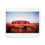Uluru: Unique Moment Sherpa Fleece Throw Blanket