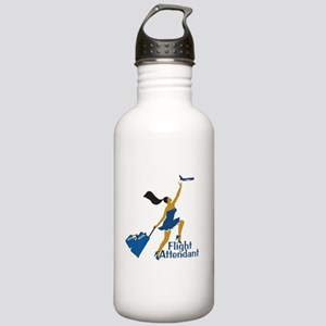 AA Catching Her Flight FA Stainless Water Bottle 1