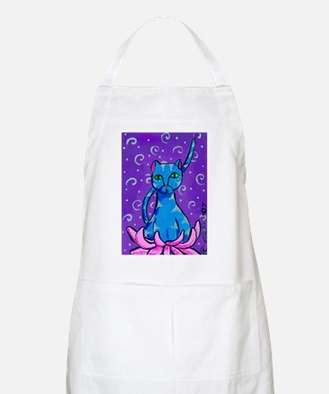 Buddha Kitty Apron