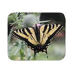 Butterfly Sherpa Fleece Throw Blanket
