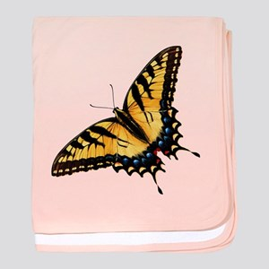 Tiger Swallowtail Butterfly baby blanket