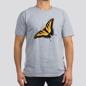 Tiger Swallowtail Butterfly Men's Fitted T-Shirt (