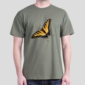 Tiger Swallowtail Butterfly Dark T-Shirt