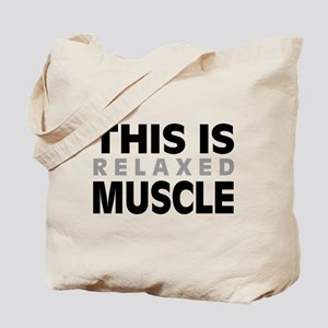 'Relaxed Muscle' Tote Bag