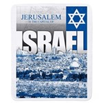 Jerusalem, Israel Sherpa Fleece Throw Blanket