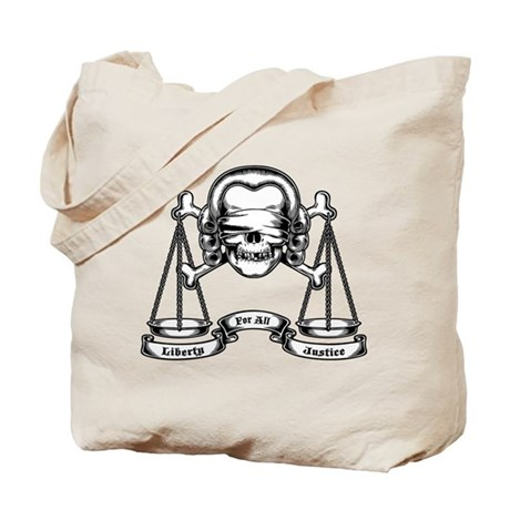 Law Pirate Tote Bag