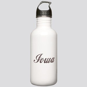 Vintage Iowa Stainless Water Bottle 1.0L