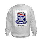 18TH INFANTRY REGIMENT - GULF WAR Kids Sweatshirt