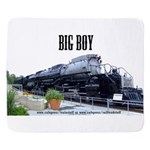 Big Boy Steam Engine Sherpa Fleece Throw Blanket