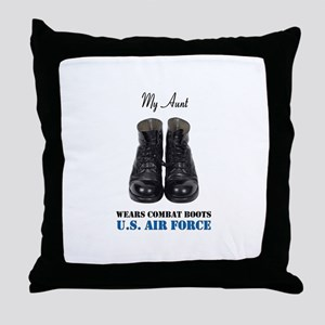 My Aunt Throw Pillow