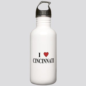 I Love Cincinnati Stainless Water Bottle 1.0L