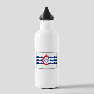 Cincinnati Flag Stainless Water Bottle 1.0L