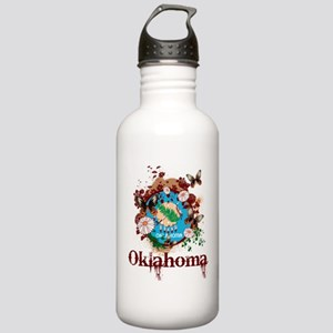 Stylish Oklahoma Stainless Water Bottle 1.0L