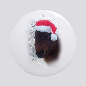 4-H Christmas County-Wide Hor Ornament (Round)