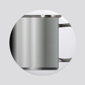 Typical Tin Cup Round Ornament