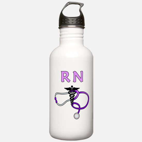 RN Nurse Medical Sports Water Bottle