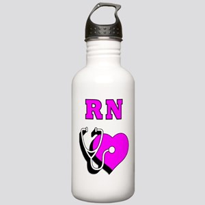 RN Nurses Care Stainless Water Bottle 1.0L
