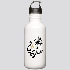 Siamese Cat Royalty Stainless Water Bottle 1.0L