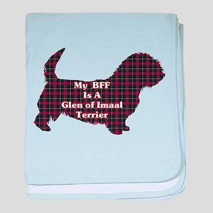 BFF Glen of Imaal Terrier baby blanket